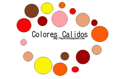 Colores calidos bajo el cielo japon s - Los colores calidos y frios ...